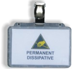 ESD badge holder