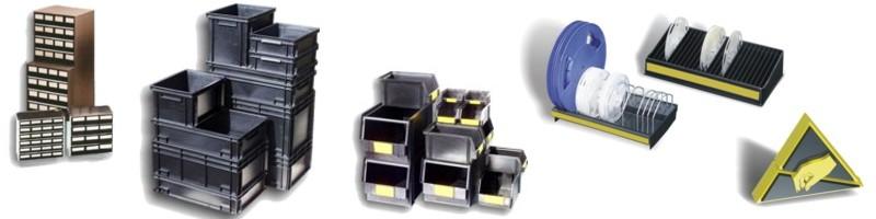 ESD - Bacs et Porte-bobines